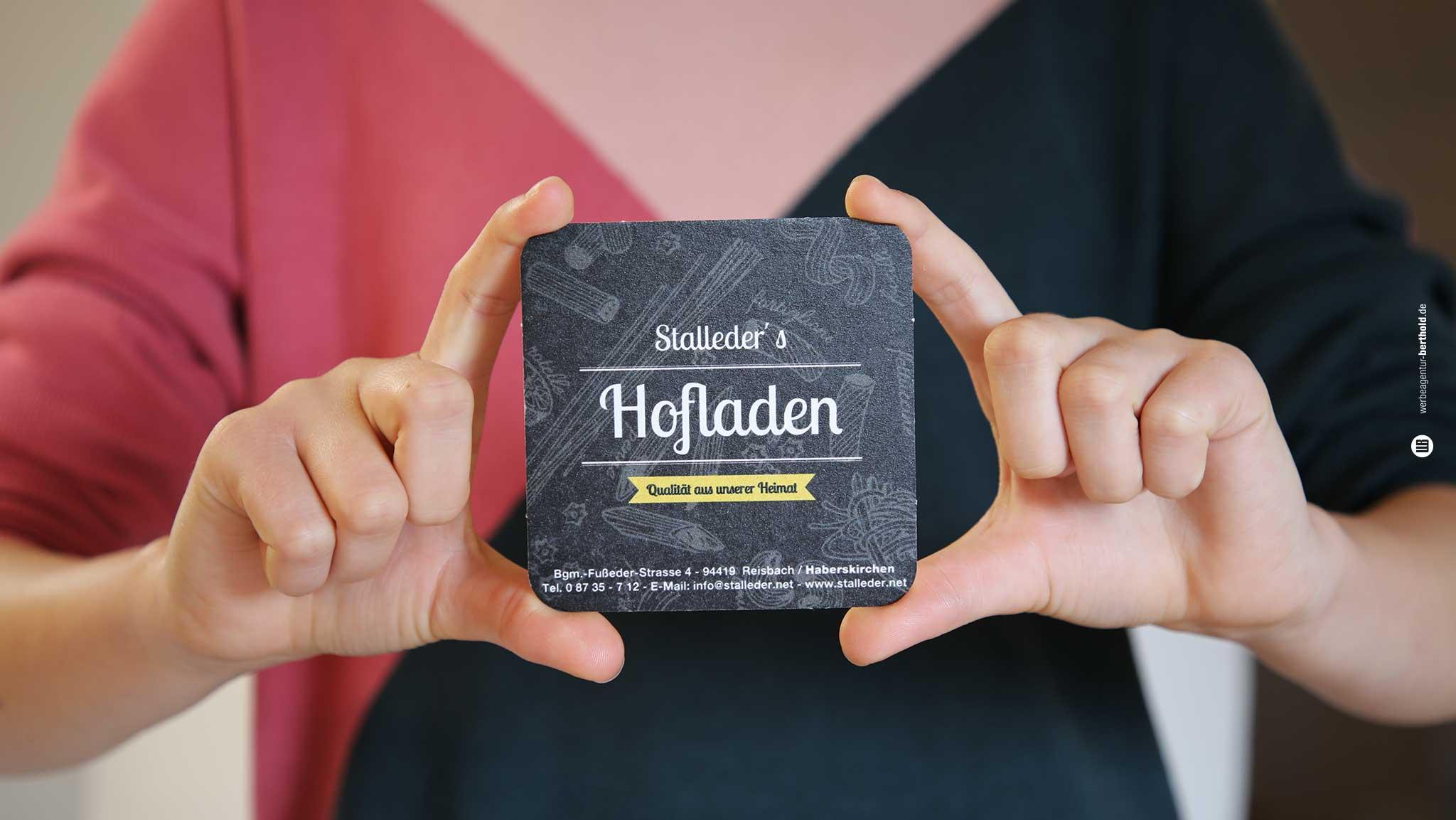 Stalleder GmbH, Logodesign, Website, SMM, Prospekte