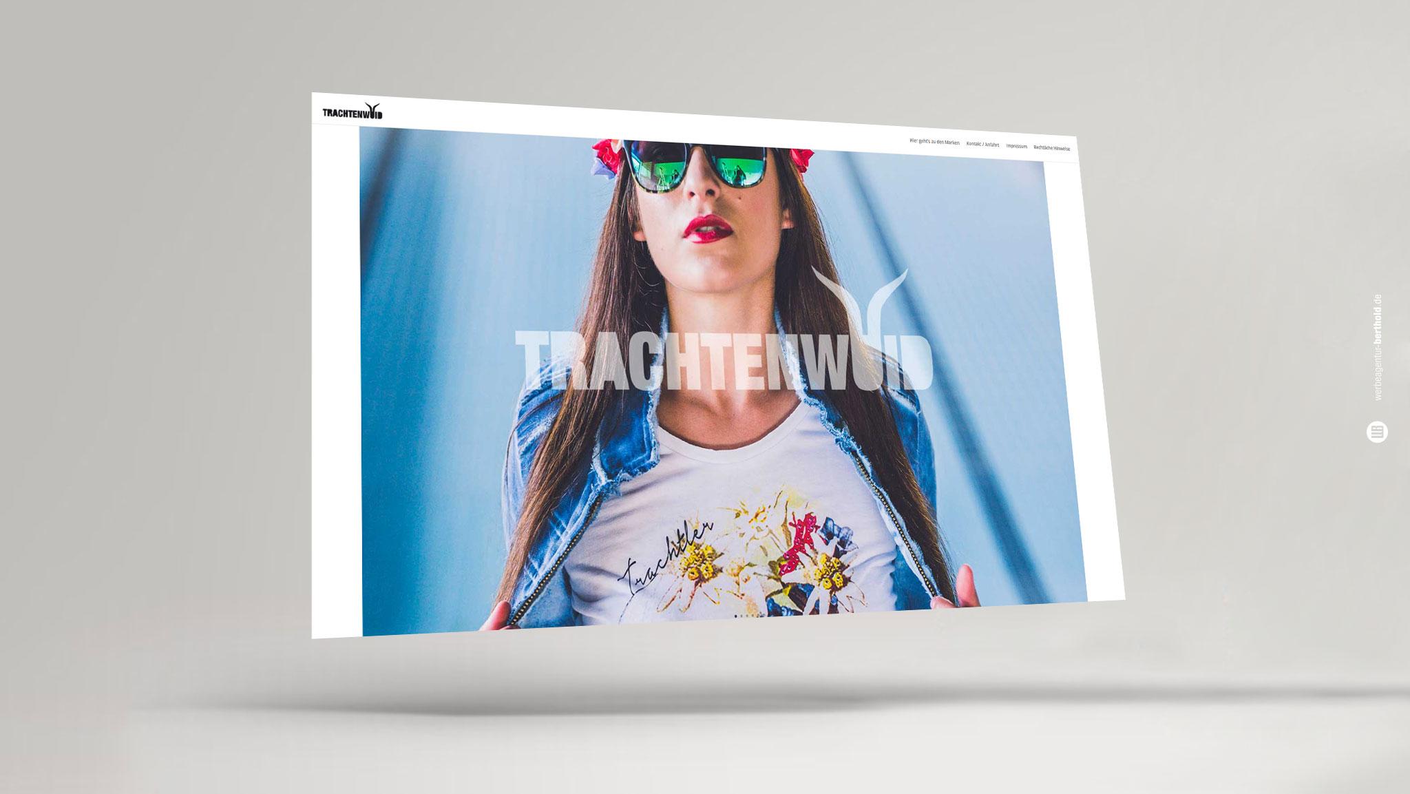 Trachtenwuid, Homepage