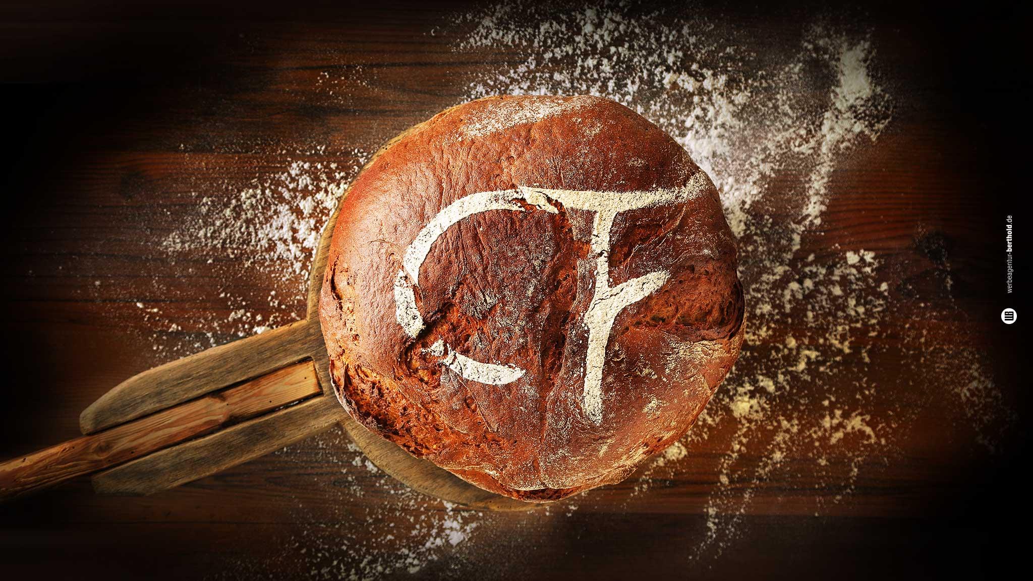 Bäckerei Frühmorgen, Fotodesign