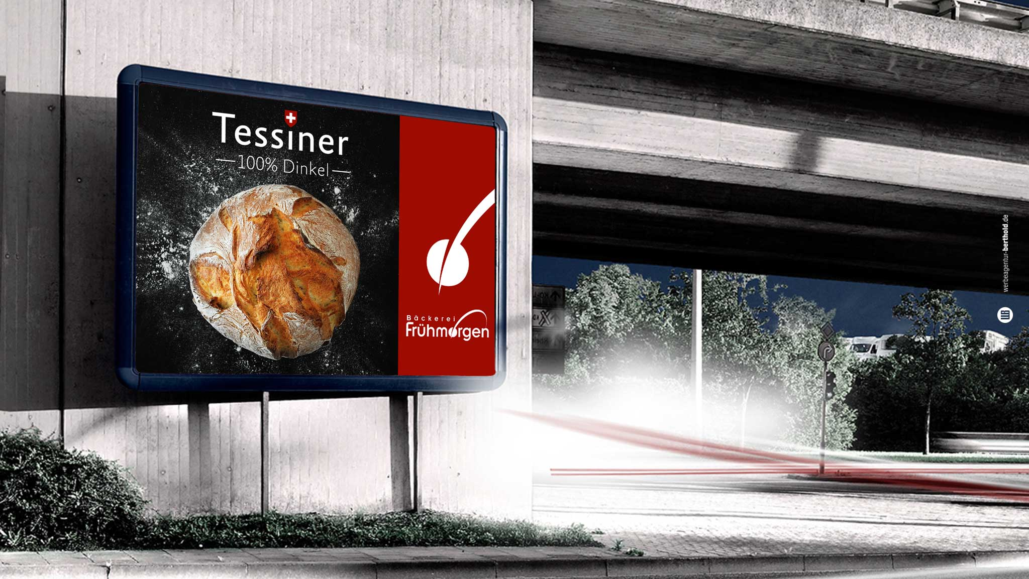 Bäckerei Frühmorgen, Plakat Kampagne