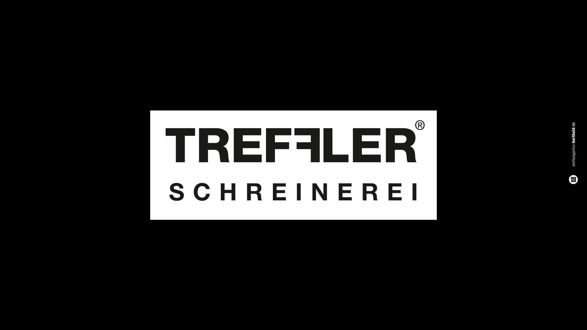Treffler Schreinerei, Logoentwicklung